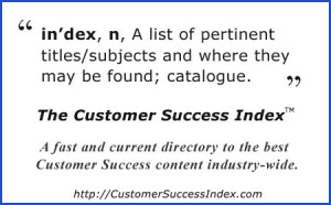 The Customer Success Index