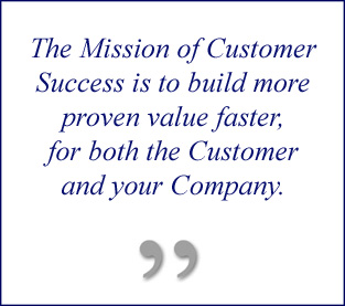 The Mission of Customer Success