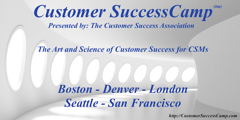 Text: Customer SuccessCamp