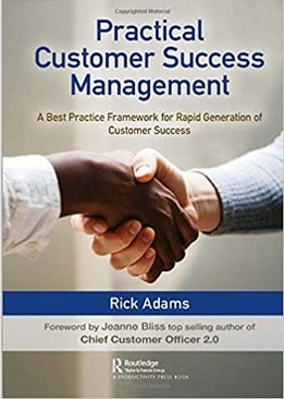 Book cover image with title: Practical Custmoer Success Management
