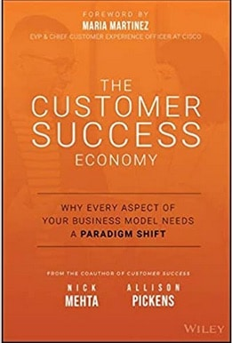Image of book with title - The Custemor Success Economy