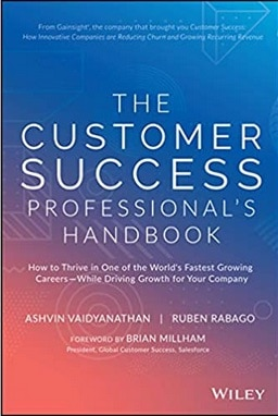 Book cover: The Customer Success professional's Handbook