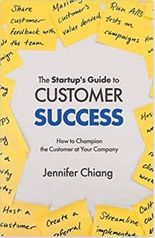 Book cover: The Startup's Guide to Customer Success