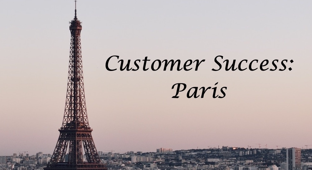 Customer Success Paris image with Eiffel Tower