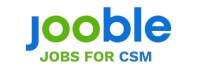 Logo for Jooble org, and text: Jobs for CSM